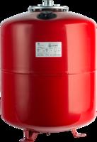 STOUT Расширительный бак на отопление 50 л. с опорными стойками (цвет красный) (Арт. STH-0006-000050)