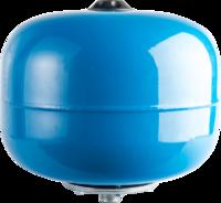 STOUT Расширительный бак, гидроаккумулятор 8 л. вертикальный со сменной мембраной (цвет синий) (Арт. STW-0001-000008)