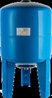 STOUT Расширительный бак, гидроаккумулятор 50 л. вертикальный с опорными стойками (цвет синий) (Арт. STW-0002-000050)