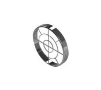 STOUT Элемент дымохода решетка из нержавеющей стали DN80 для воздухоподводящей трубы (Арт. SCA-0080-010003)