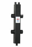 Гидрострелка гидравлический разделитель Designsteel ГРТК 80/80/40 120 кВт
