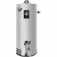 Газовый накопительный водонагреватель Bradford White M-I-504S6FBN,прир. газ.