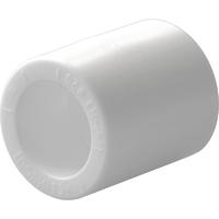 Политэк d=20 Муфта для полипропиленовых труб под сварку (цвет белый)  Арт. 9000000220