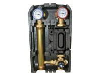 """Насосная группа STOUT с термостатическим смесительным клапаном 1"""" без насоса (Арт. SDG-0002-002501)"""