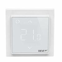 Терморегулятор DEVI DEVIreg™ Smart интеллектуальный с Wi-Fi, полярно-белый, 16А (140F1140)